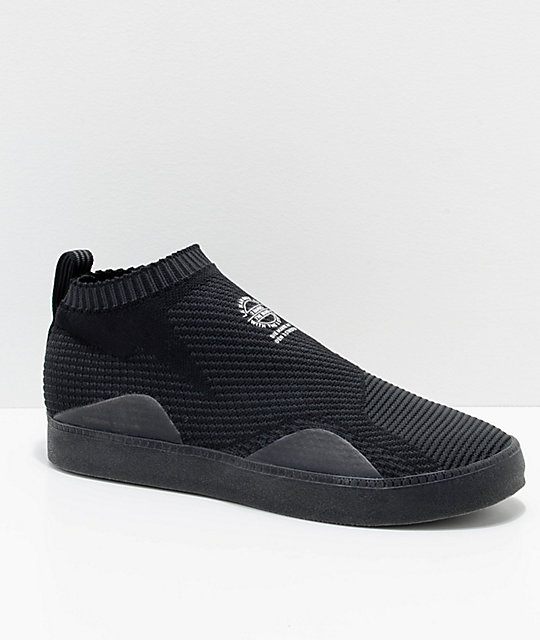 adidas 3ST.002 Primeknit Carbon Black Shoes