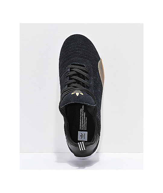 buy online b4b3b 00717 ... adidas 3ST.003 Black Granite  White Shoes ...