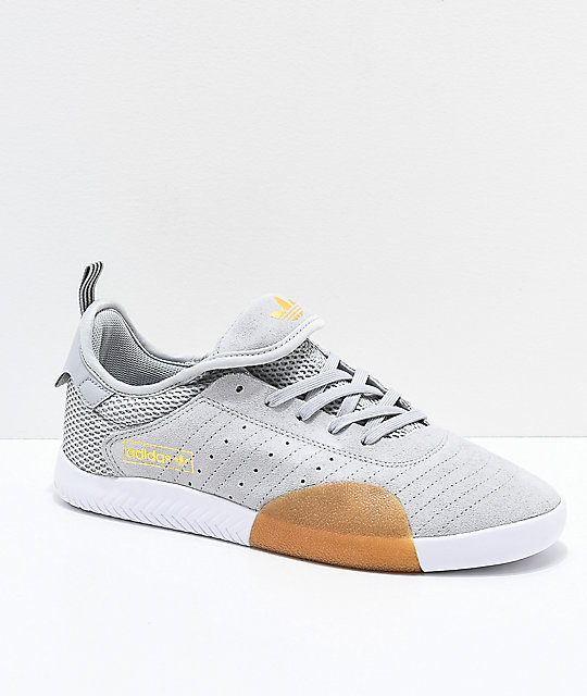 new concept 720b0 6e7fd adidas 3ST.003 Grey  White Shoes  Zumiez.ca