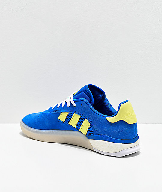 adidas 3ST.004 Blue, Yellow & White Shoes