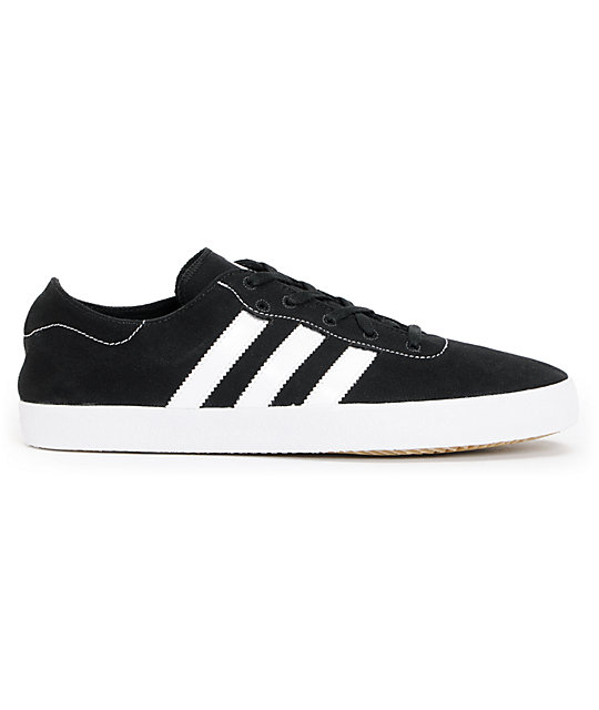 adidas Adi Ease Surf Black & Running White Canvas Canvas Shoes