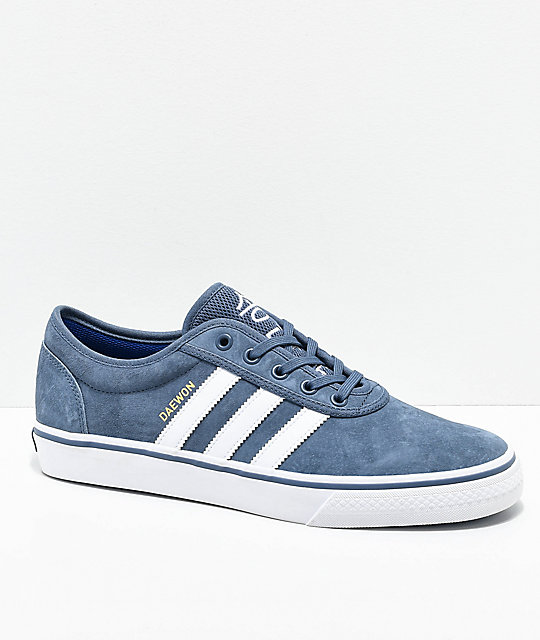 size 40 c7024 1e402 adidas AdiEase Daewon Ink Blue Shoes  Zumiez