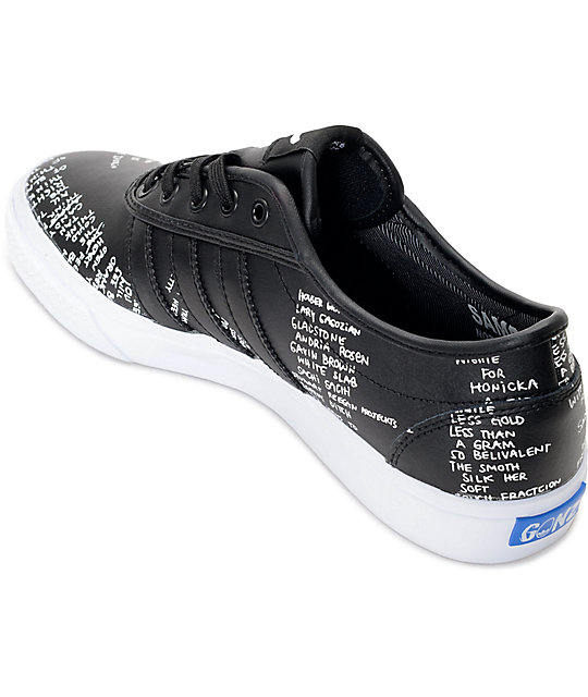 adidas AdiEase Gonz Black Shoes