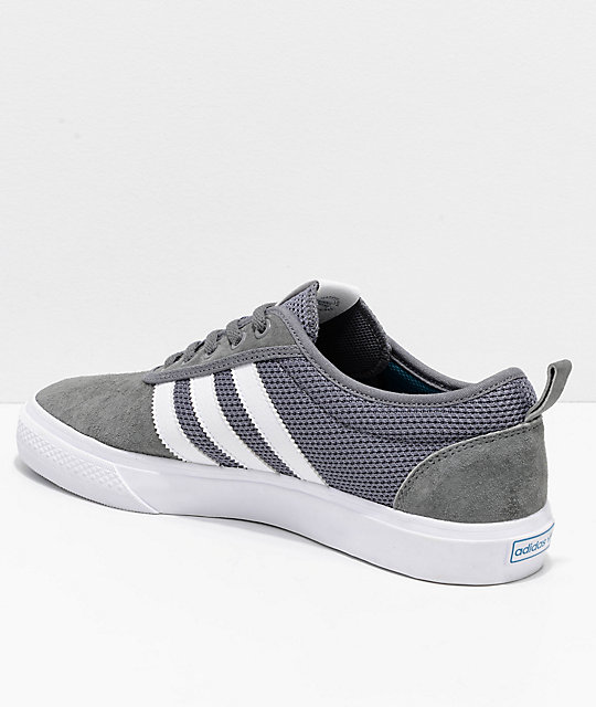 adidas AdiEase Grey & White Shoes