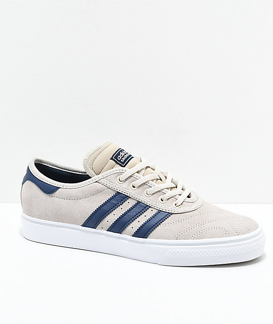 new arrival 147e3 8f4e9 adidas AdiEase Premiere Clear Brown  Collegiate Navy Shoes