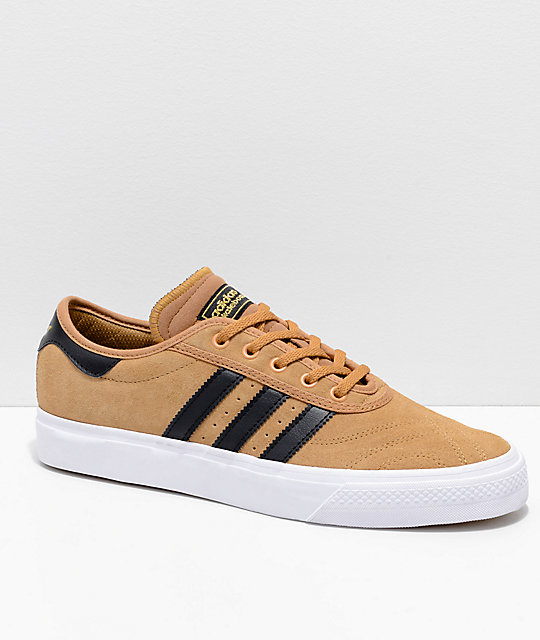 official photos 5c653 265be adidas AdiEase Premiere Mesa, Black  White Shoes  Zumiez