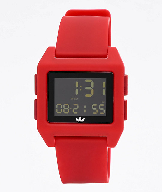 adidas Archive SP1 Scarlet Digital Watch
