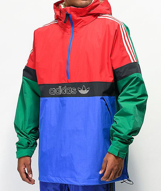 adidas de Snowbreaker chaqueta 10K roja y BB snowboard verde wOZiuTPkX