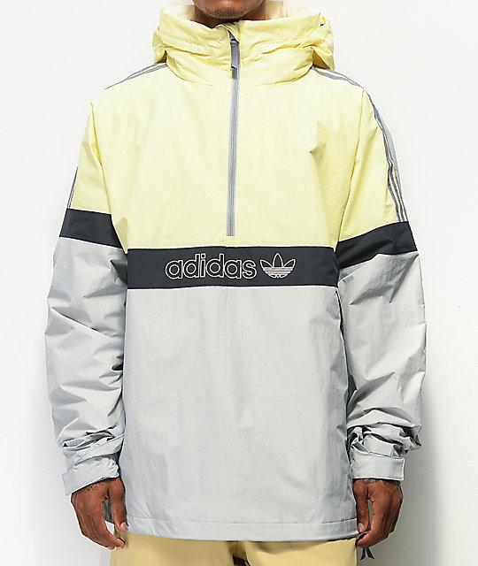 adidas BB Snowbreaker Jacke Gelb | adidas Deutschland