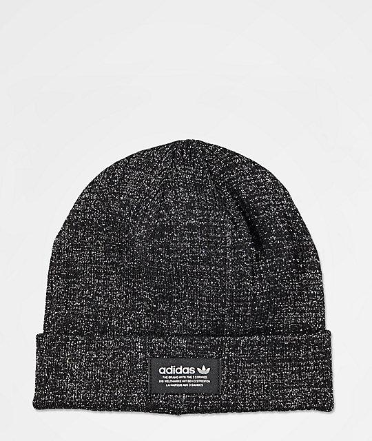 adidas Black   Silver Beanie  5750438c0238