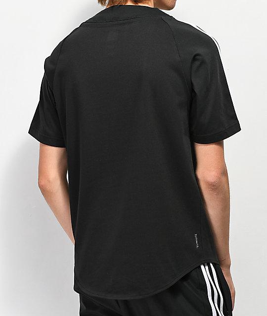 280b61f56 ... adidas Black Baseball Jersey