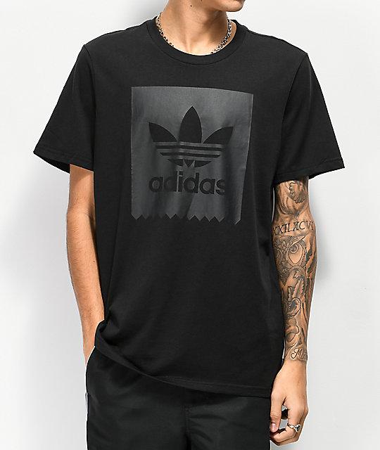 1ea95d3053d adidas Blackbird All Black T-Shirt