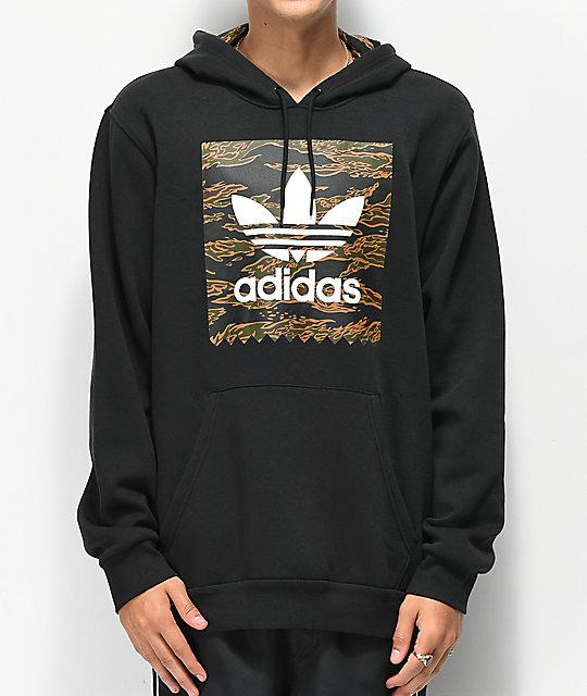 adidas camouflage blackbird pullover hoodie