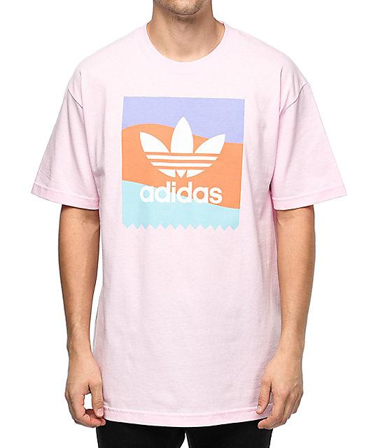 adidas Blackbird Pink T-Shirt | Zumiez