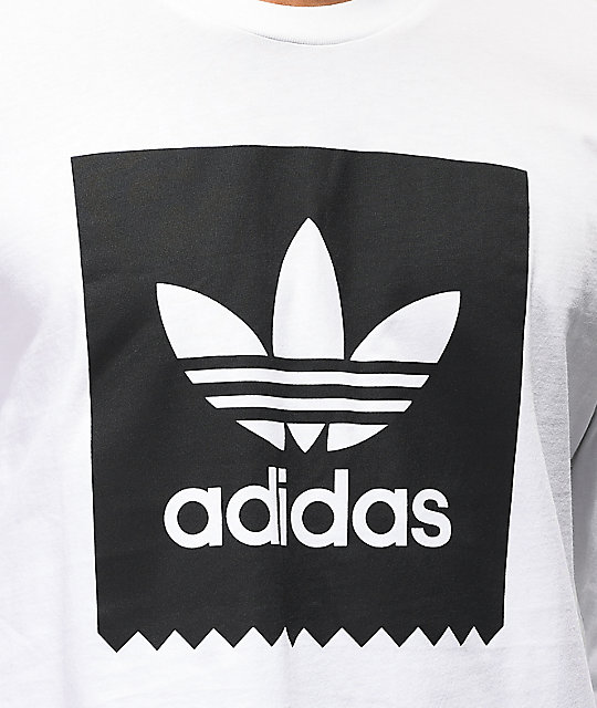 adidas Blackbird White Long Sleeve T-Shirt