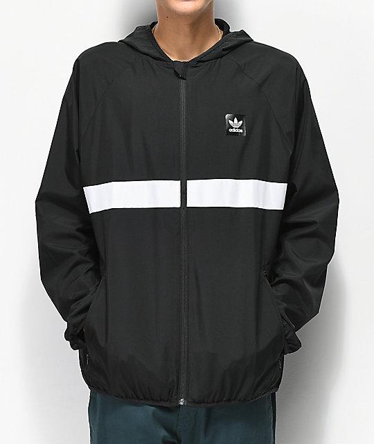 de59dc00e adidas Blackbird chaqueta cortavientos en negro ...