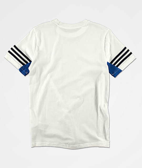 adidas Boy's Authentic White T-Shirt