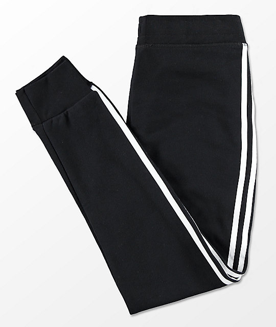 b545cba1b26 adidas Boys Trefoil Black Sweatpants  adidas Boys Trefoil Black Sweatpants