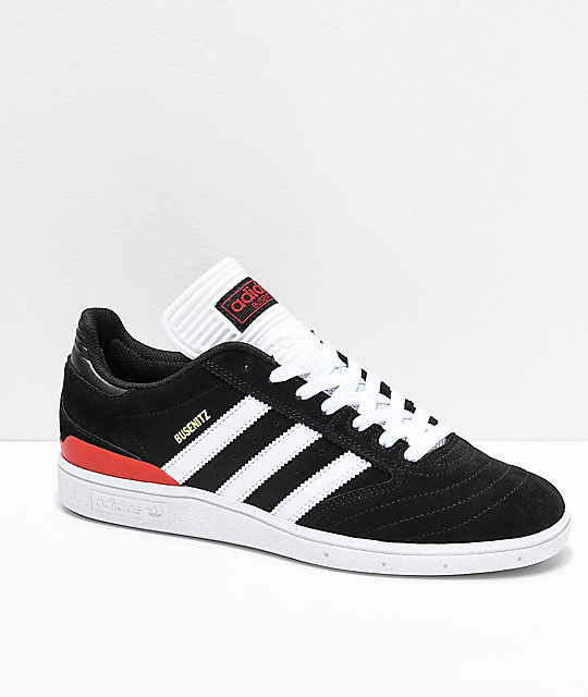 adidas Busenitz Black, White  Red Shoes ...