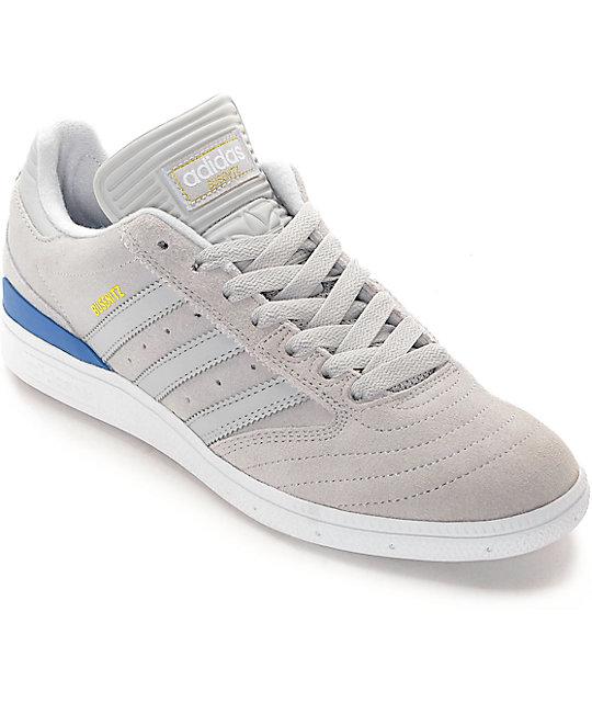 Adidas Busenitz Grey Grey Bluebird Shoes