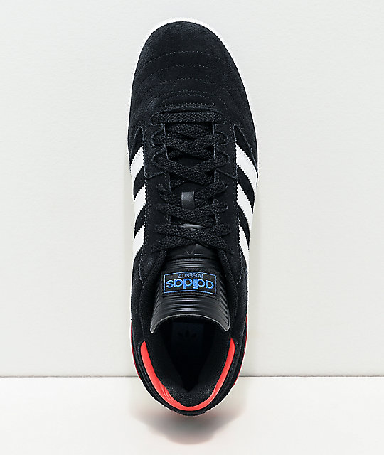 adidas Busenitz Pro Black, White, Red & Blue Shoes