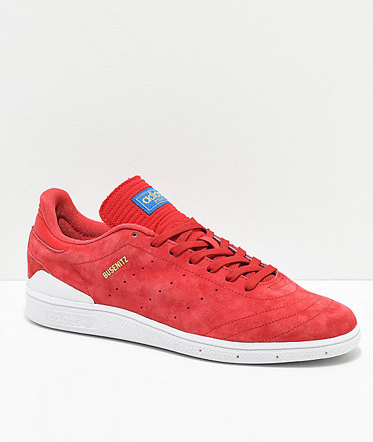 adidas Busenitz Pro RX Core Red Shoes ...