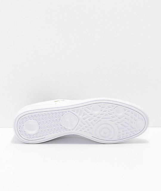 adidas Busenitz Pro RX Core White Leather  Shoes