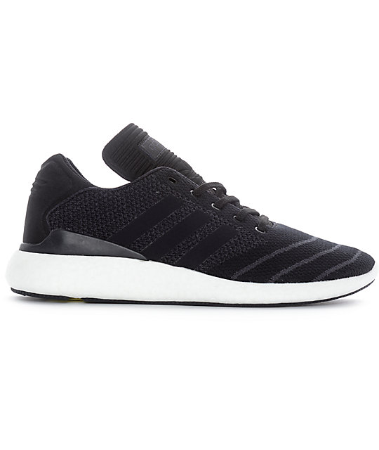 adidas Busenitz Pure Boost Prime Black Shoes