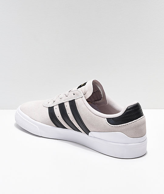 adidas Busenitz Vulc Crystal White & Black Shoes