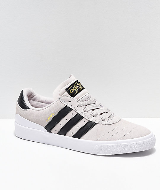 adidas Busenitz Vulc White & Black Shoes Zumiez  Zumiez