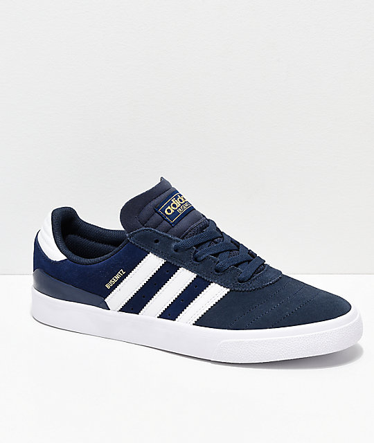 adidas Skateboarding Dresses the Busenitz VULC in Blue and