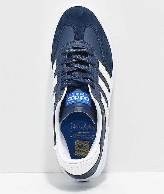 adidas Busenitz Vulc RX Navy & White  Shoes