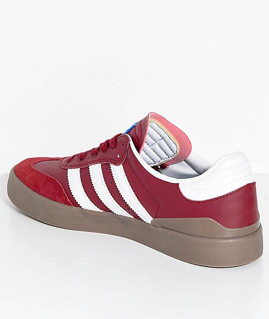 Burgundyamp; Rx Busenitz Adidas White Samba Vulc Shoes tQdhBsxrCo