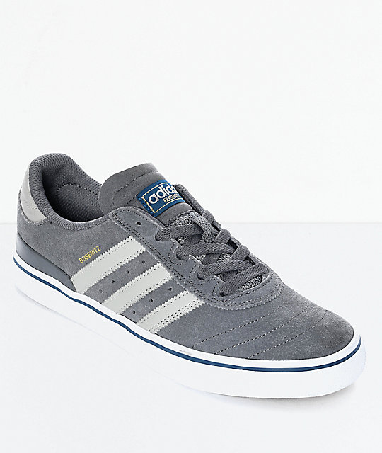ed11f029e3 adidas Busenitz Vulc Sesame Grey   White Shoes