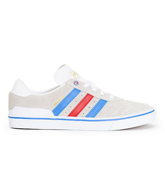 quality design bf04b 861c9 ... where to buy adidas busenitz vulc white blue red shoes 97fa4 f8142