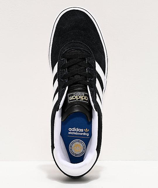67543db5b58 ... adidas Busenitz Vulc White   Black Shoes ...