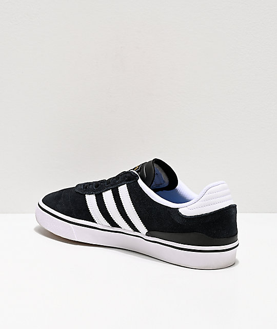 adidas Busenitz Vulc White & Black Shoes