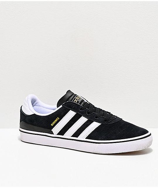 finest selection 05e88 36b93 ... netherlands adidas busenitz vulc zapatos de skate en blanco y negro  1cf76 2d7ee