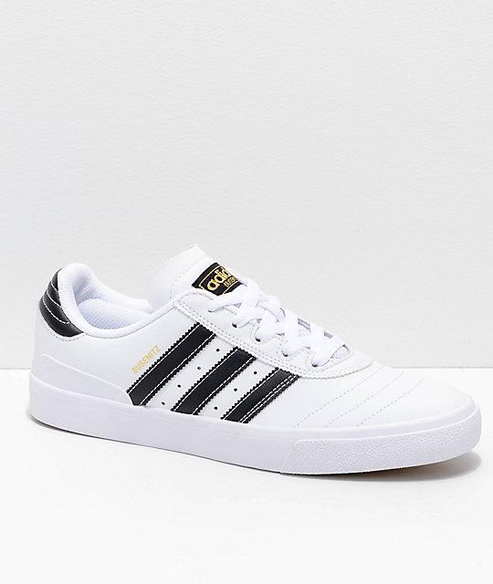 Adidas Y Negro Blanco Dorado Zapatos Busenitz En Vulc Zumiez rZTwcqvCr