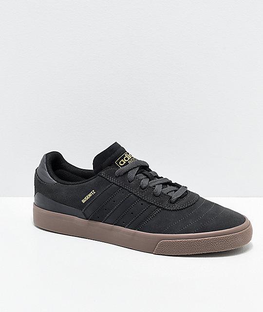 sale retailer 96926 85a2b adidas Busenitz Vulc zapatos en gris, negro y goma ...