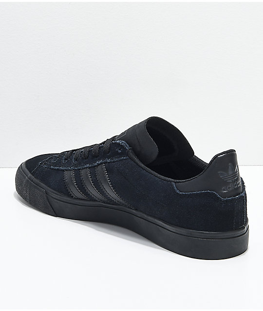adidas Campus Vulc II All Black Shoes