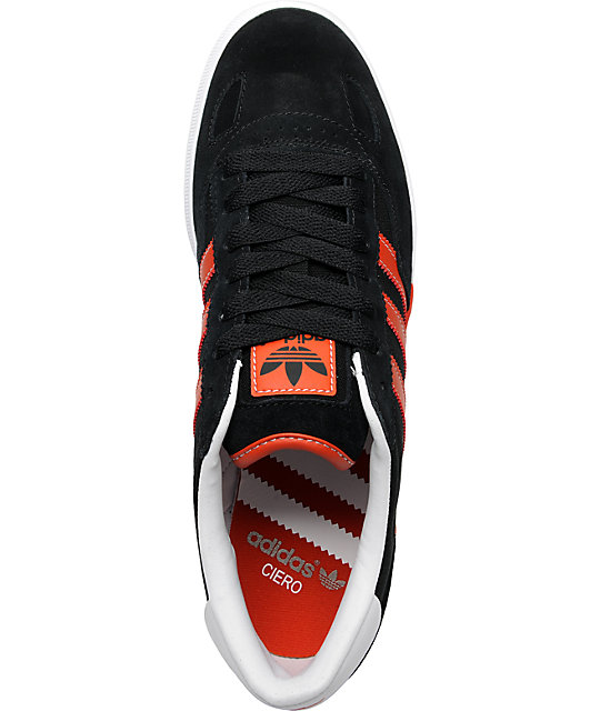 best loved bf68f 3d50f ... adidas Ciero Black  Red Shoes ...