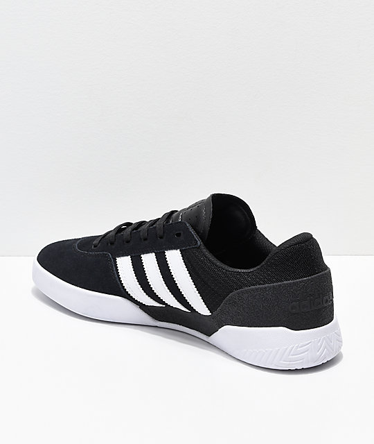 adidas City Cup Black & White Shoes