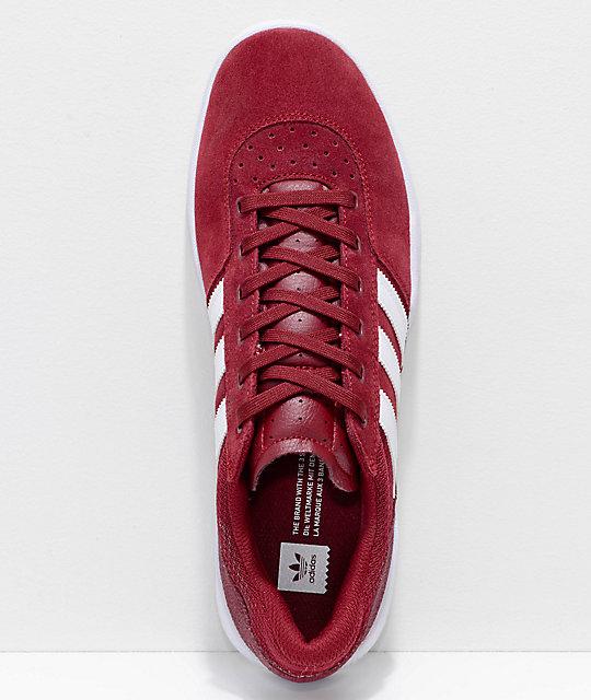 best website 3231e 0fd5c ... adidas City Cup zapatos burdeos y blancos ...