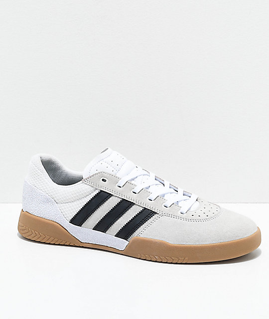 City En Goma Adidas Y BlancoNegro Cup Zapatos m8wnvN0