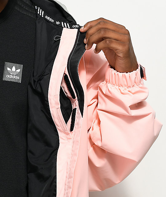 Adidas Civillian Gonz 2 0 Pink 10k Snowboard Jacket Zumiez