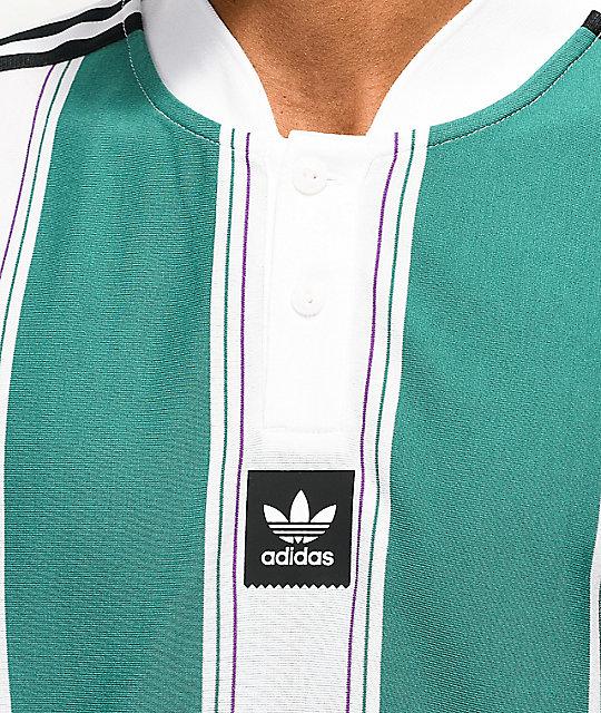 adidas verde y blanca