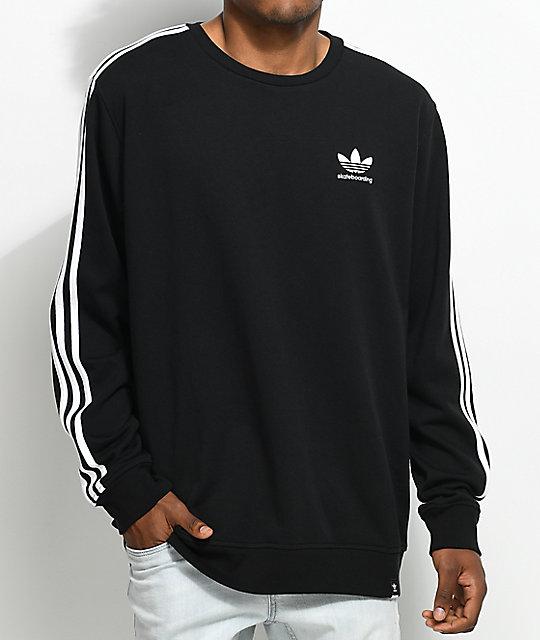 Neck Black 0 Crew Sweatshirt Adidas Clima 2 uJT1cFKl3