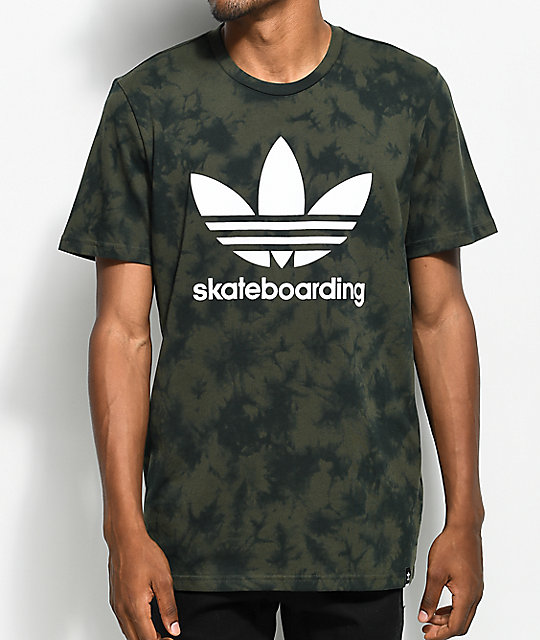 adidas Clima 3.0 Military Crystal Tie Dye T Shirt