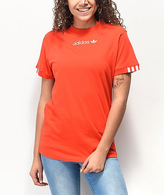 adidas Coeeze Red T Shirt